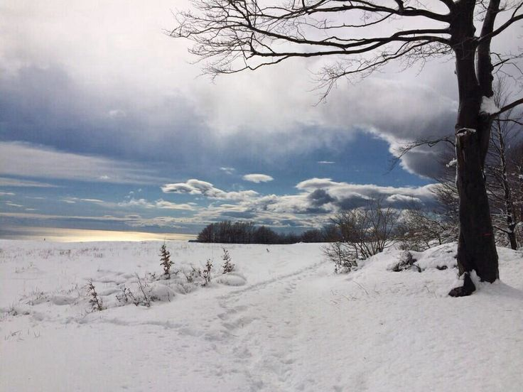 cose di Liguria: neve vista mare, Beigua, Pratorotondo