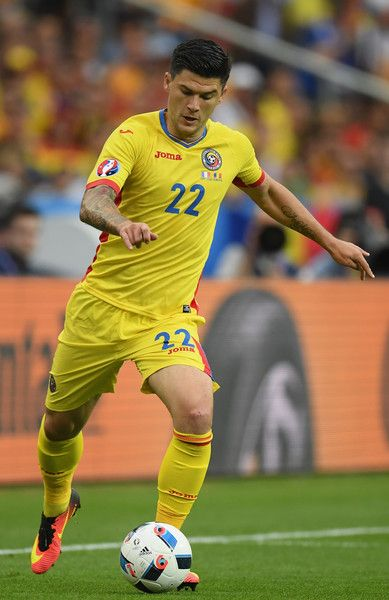 Cristian Sapunaru of Romania in action during the UEFA Euro 2016 Group A match between France and Romania at Stade de France on June 10, 2016 in Paris, France.