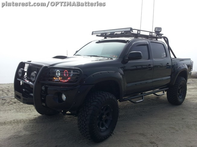 Christopher Pate is an Infantryman in the Marines and his 2011 Toyota Tacoma is sponsored by OPTIMA. Christopher tells us all his unit's vehicles are also OPTIMA-powered