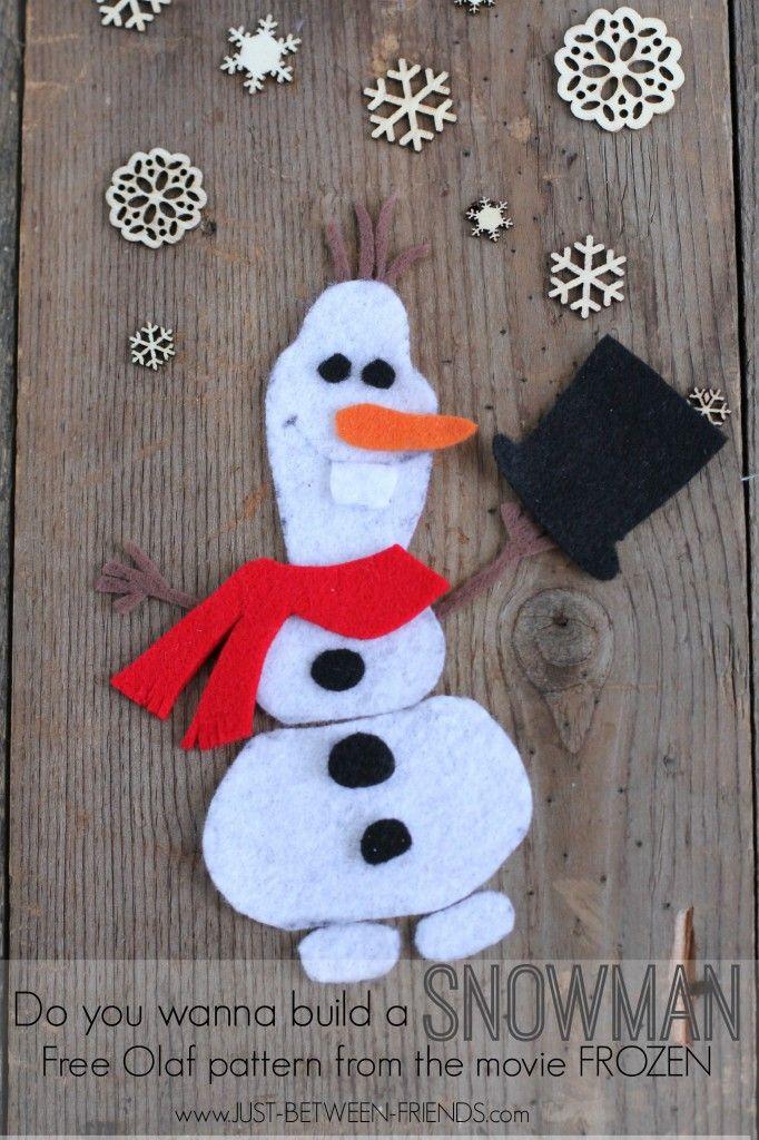 Make Your Own Olaf   Disney FROZEN #cbias
