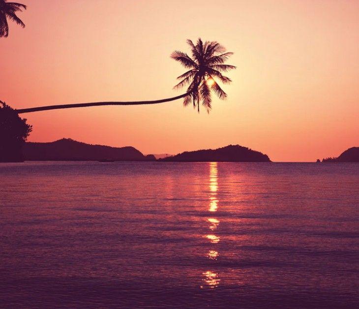 Marsala Inspiration: Tropical beach by Galyna Andrushko