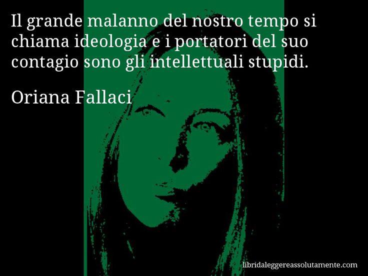 Cartolina con aforisma di Oriana Fallaci (19)