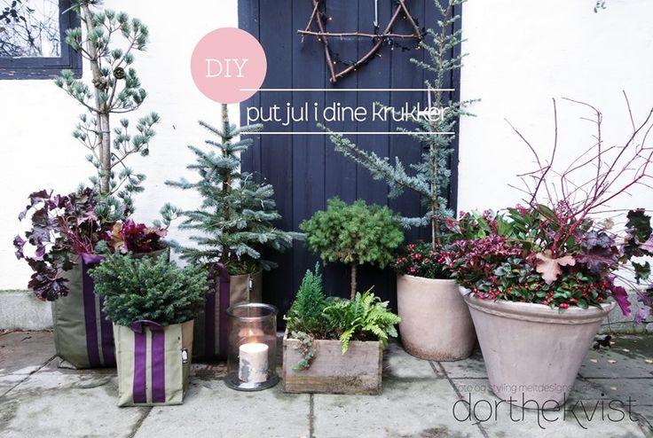 DIY::: Put jul i dine krukker - MeltdesignstudioMeltdesignstudio