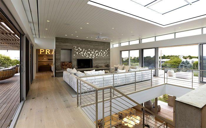 Ocean Deck Villa with Magnificent Ocean View natural materials textiles house interior design