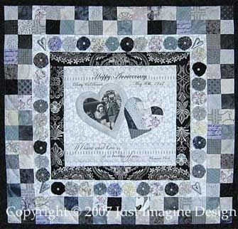 Double Wedding Ring Quilt Pattern   OzarkMountainQuilter.com