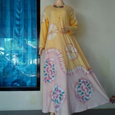 Dress Tiedye Uchiha from BulBul Hijaz