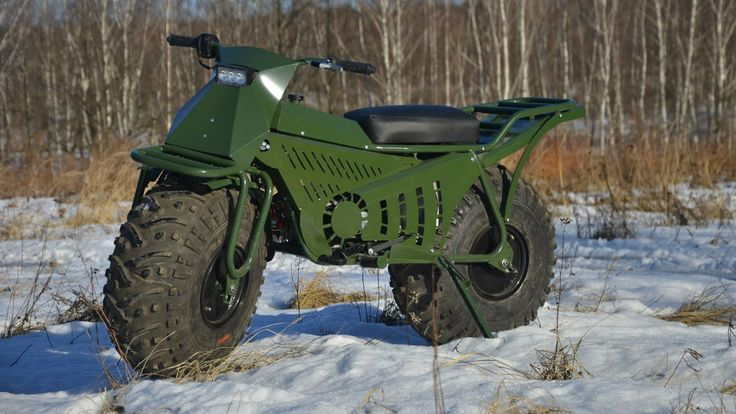 "According to its Russian designers, the Tarus 2x2 is an ATV made to ""overcome bezdorozhya."" I don't know exactly what ""bezdorozhya"" is--it stumped my Google translator--but if the Tarus promo video is any indication, the word encompasses muddy, wa http://www.dudeiwantthat.com/autos/motorcycles/tarus-2x2-atv.asp#fav5930"