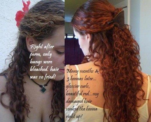 Natural Henna Hair Dye For Grey Hair