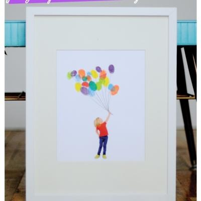 Fingerprint Balloons Photo {Photoshop Tutorial} - Tip Junkie