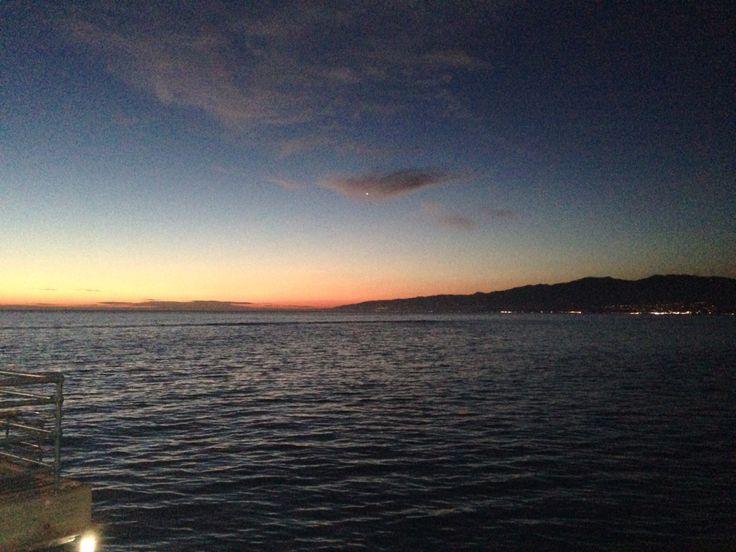Santa Mónica pier sunset!!