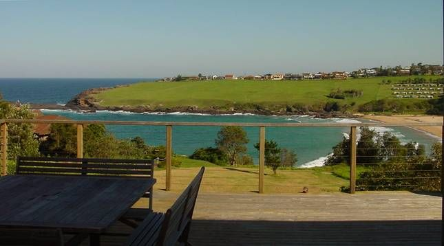 From the deck: Kiama Beach House -- in Kiama