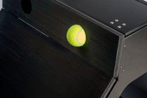 Flyball Box - detail balónků
