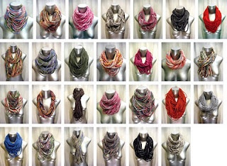 diy scarves out of tshirts