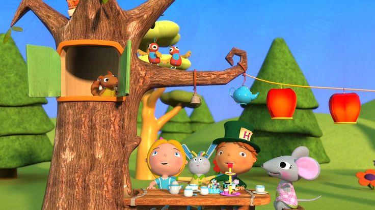 Polly Put The Kettle On - Still from video by #HuggyBoBo  Watch on YouTube https://youtu.be/mENL6IAt2K0