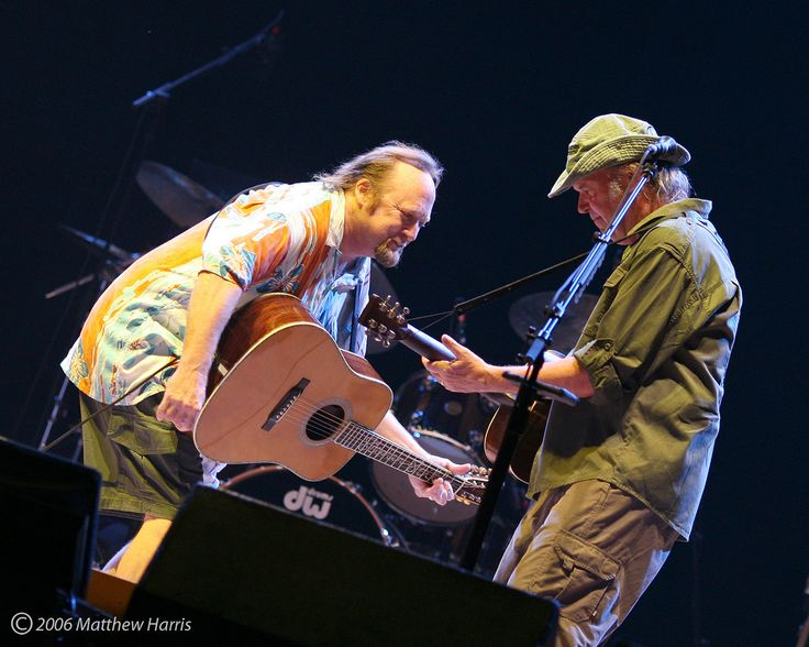 Steven Stills & Neil Young | par Matthew Harris