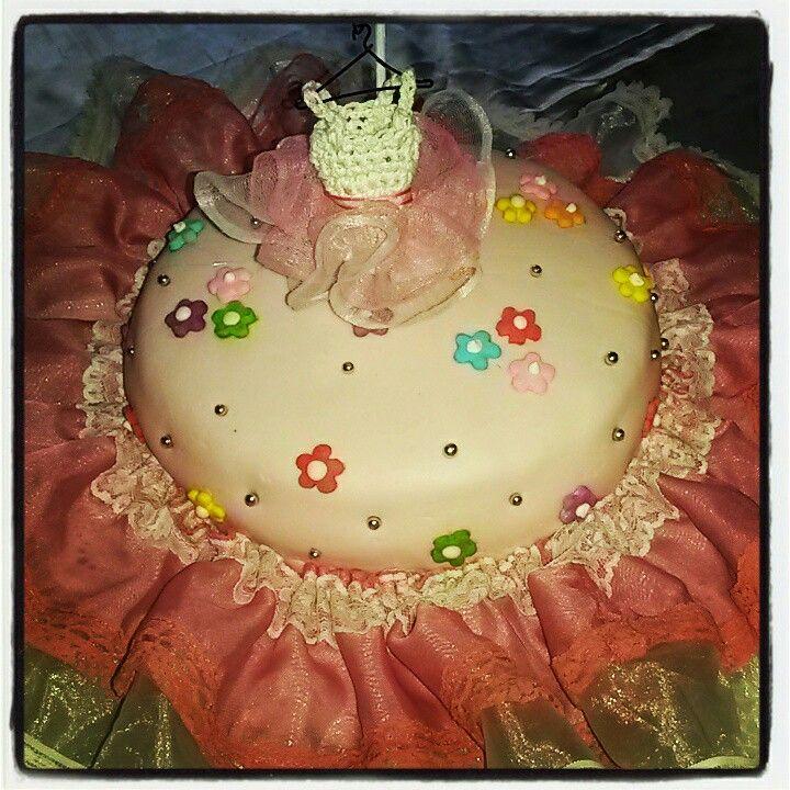 Dolce Domenica - Pasteleria Creativa & Eventos. Torta Bailarina Babyshower Melody.