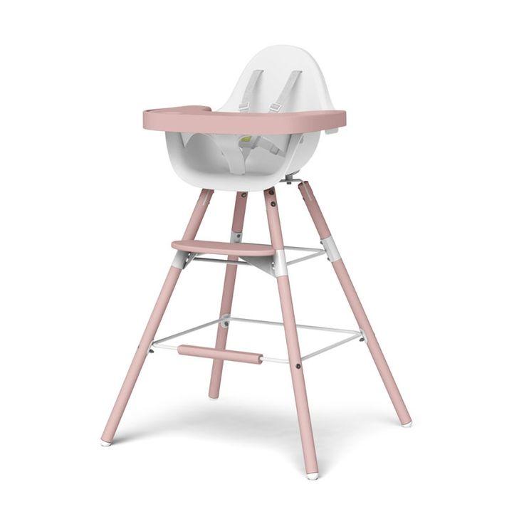 Krzesełko Evolu 2 Cupcake Pink (+ 6 mies.) Childhome BioMaluch.pl