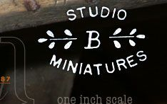 Studio B Miniatures. My wife, Wendy Birkemeier, and I created miniatures of early American primitive paintings. Other family members created early American furniture, tinware, and lighting devices. Our niece, Sara, a graphic artist, put the website together as a record of what we all had fun doing.