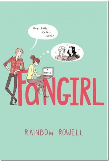 Fangirl by Rainbow Rowell: This book is really fantastic. Rowell has a way of writing that sticks with you and makes you want to re-read certain passages. It takes place in college, so it's for older teens, but also has adult appeal. This author is quickly becoming a must buy/read!