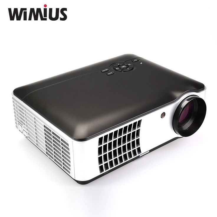 Wimius 2800 Lumens Videoprojecteur LED Full HD Home Cinema Beamer 1080P 1280*800 Projector //Price: $176.86//     #onlineshop