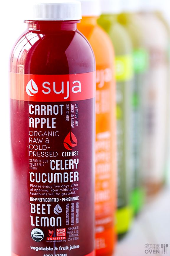 Suja juice!  Finally a real, heathly cold pressed juice. Did a day cleanse and felt amazing!  They deliver overnight on ice packs so that they are cold and preserved during the transit. I tried all the flavors for the one day cleanse; they are all delicious! Will do the 3 days cleanse for sure!  Great way to clean your systems. Love you Suja!!!❤
