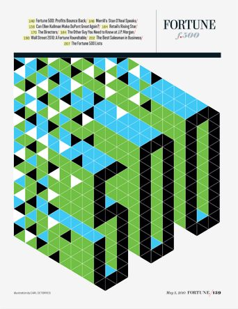 Carl DeTorres | illustration | isometric | pattern