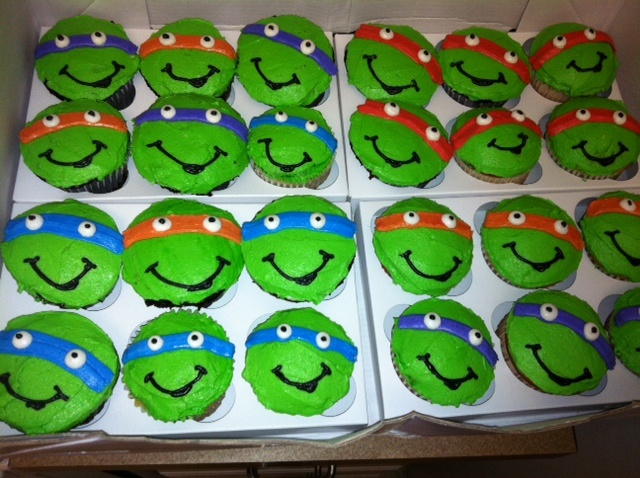Best 25 Ninja turtle cupcakes ideas on Pinterest Ninja turtle