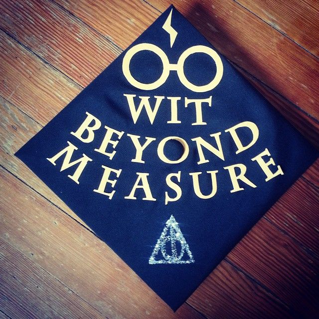Pin for Later: 40 DIY Graduation Cap Ideas For Major Harry Potter Fans