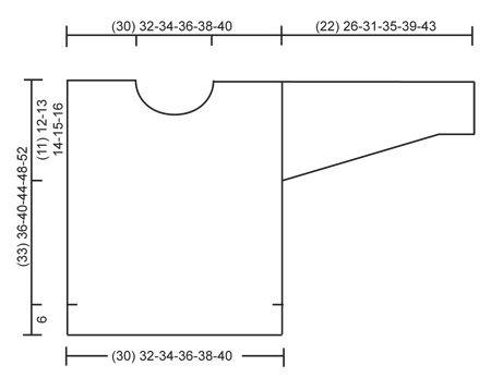 """Modest Michael - Kraus rechts gestrickter DROPS Pullover in """"Air"""" mit glatt rechts gestrickten Ärmeln und rundem Halsausschnitt. Gr. 12 Monate - 10 Jahre - Free pattern by DROPS Design"""