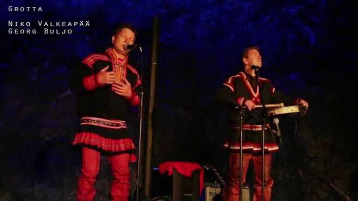 Niko Valkeapää og Georg Buljo i Grotta