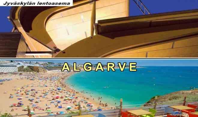 Jyväskylästä Algarveen