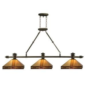 Mission style island light... would be perfect for our kitchen, if only we had $400 to spend on a light!