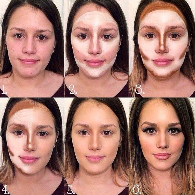 5 Pasos para delinear tu rostro con maquillaje
