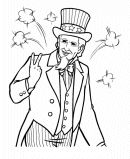 4th of July Coloring Pages for kids !