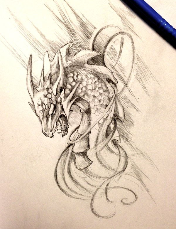 Dragon Design by Lucky978.deviantart.com on @deviantART