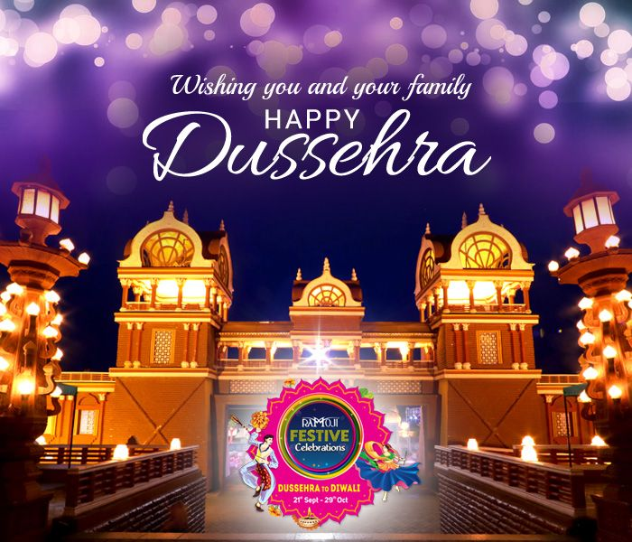 Hotels at Ramoji Film City Wishing you all a fun filled Dussehra. Happy Dussehra 2017.