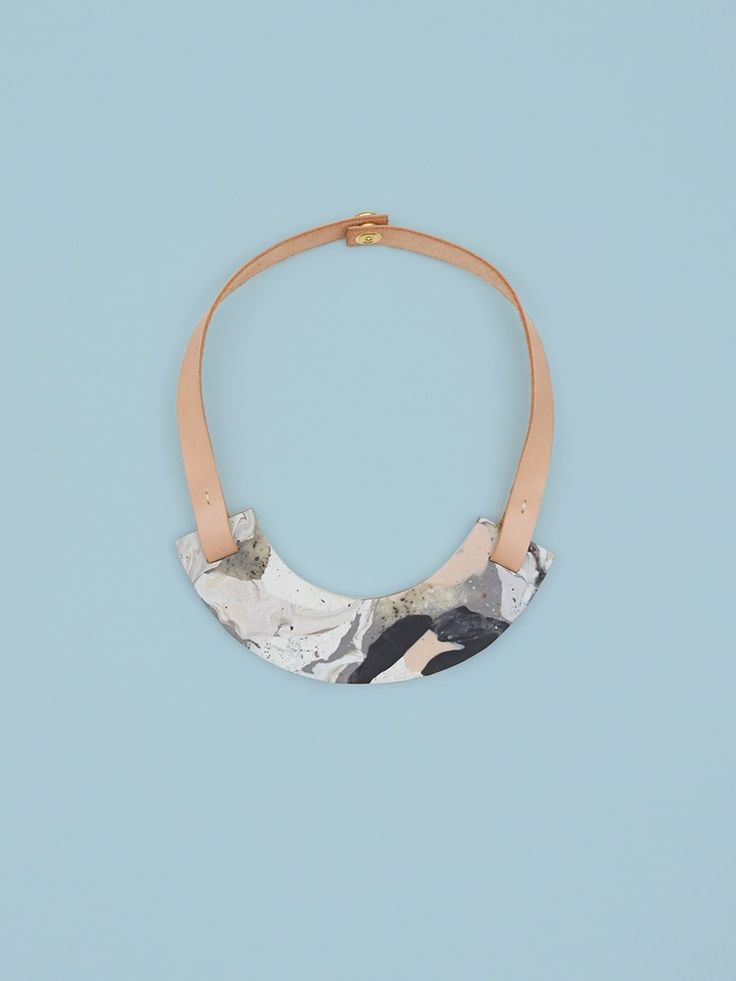 DIY Inspo, Clay Leather - jewelry womens necklace ring - http://amzn.to/2hR83wC