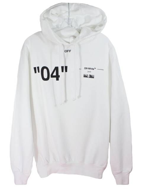 Off White Christmas Hoodie.Off White White 04 Mona Lisa Hoodie Christmas 2018 In