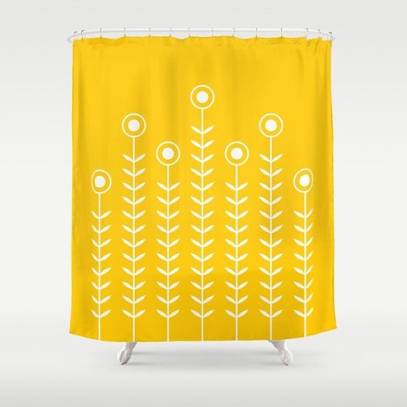 Includes NEW + UPDATED COLOURS for 2016! ************************************************** Minimalist flower pattern on a shower curtain…