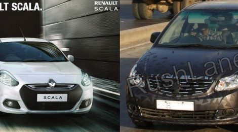 2013 Maruti Suzuki SX4 facelift and new Renault Scala CVT for India | Rush Lane