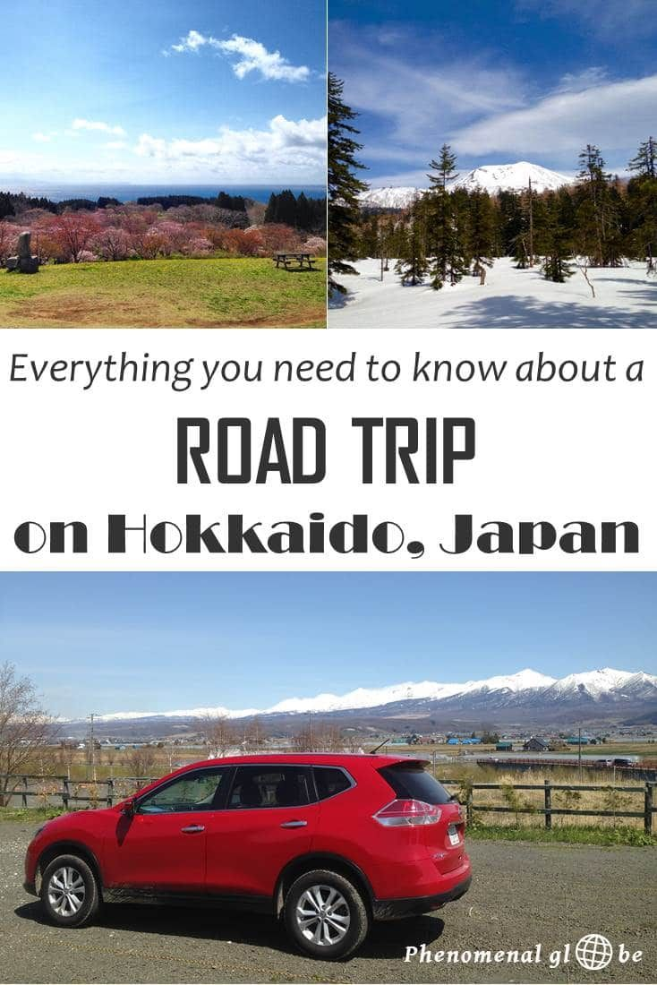 Road Trip On Hokkaido How To Drive And Rent A Car In Japan Road Trip Japan Japan Travel Tips