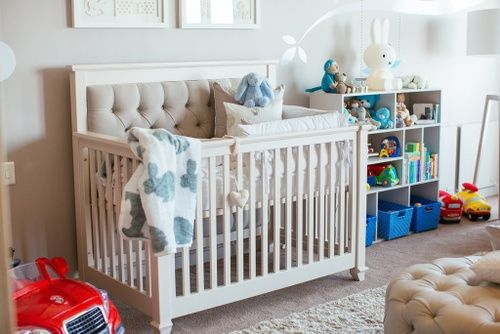 Baby Jayden – Baby Belle Luxury Jayden Cot - Beautiful Baby Interior Nursery