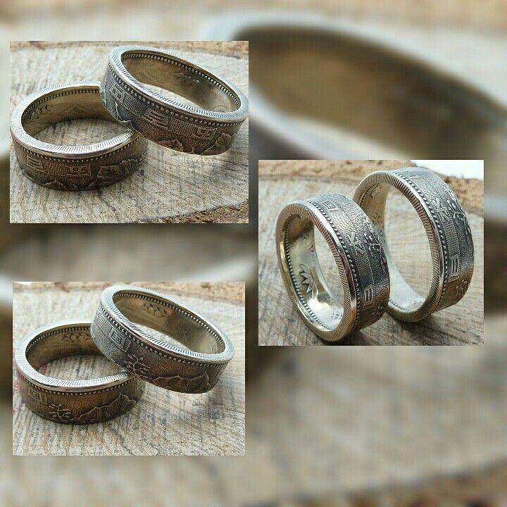 www.muenzenringe.de NEU!! Japan am Finger 😁 #ring #coin #coinring #sen #yen #japan #tokio #handmadejewelry #handmade #jewelery #breclet #necklaces #earrings #schmuck #eyecatcher #insel #geisha #sushi #happy #dawanda #love #life #glücklich #fashion #style #beauty #chic #weddingring