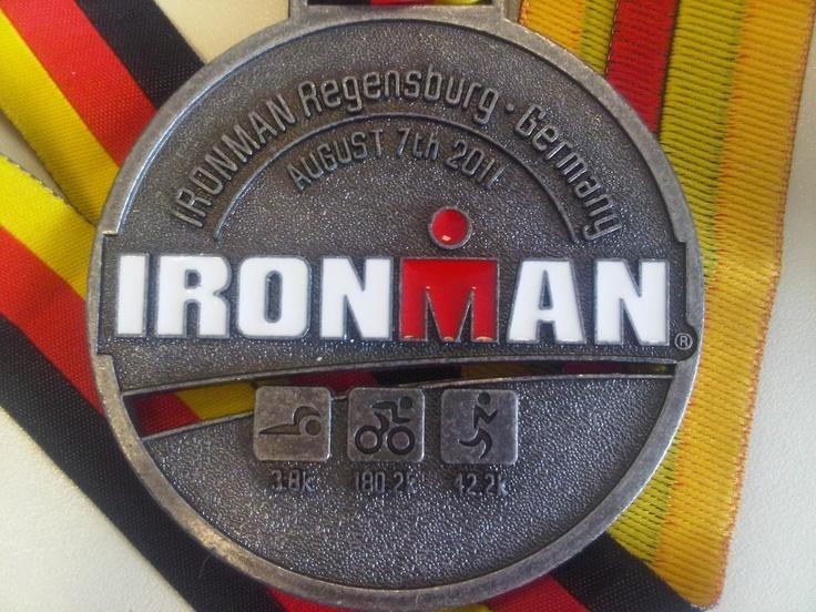 IronMan Regensburg medal