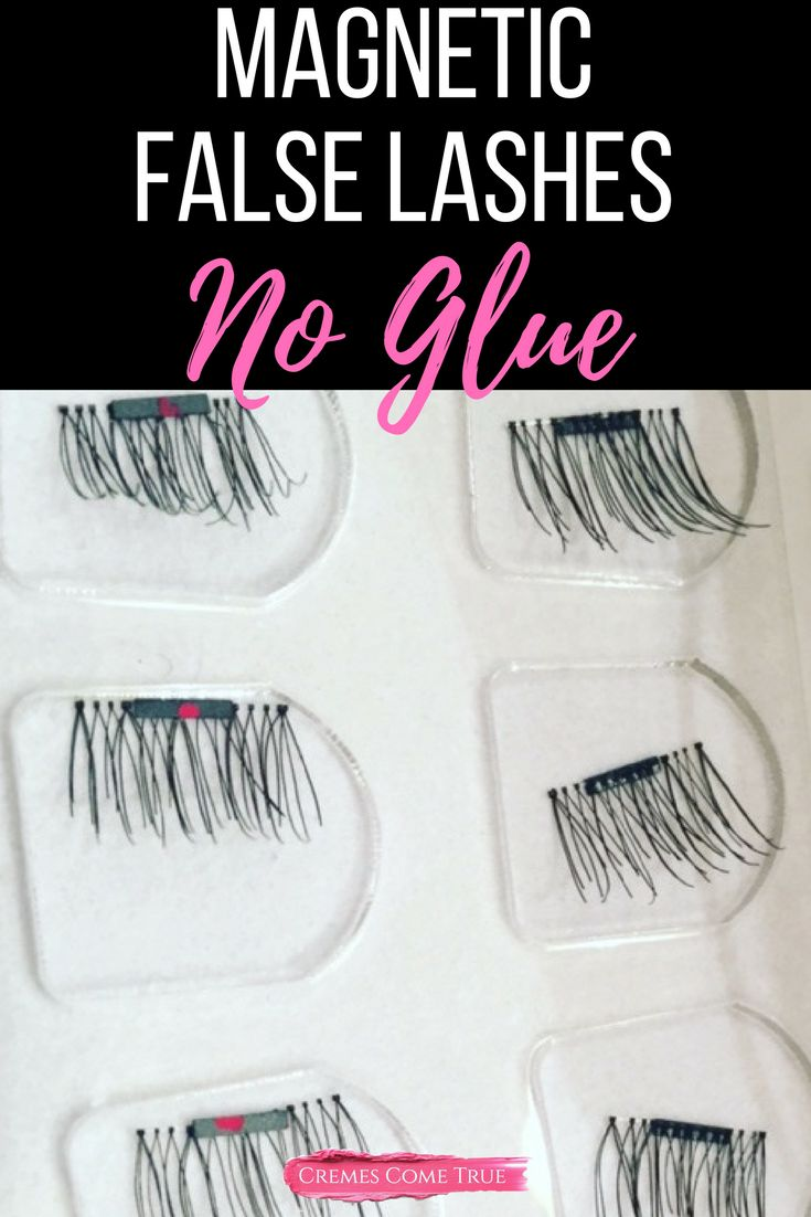 Scared of glue like me? These lashes changed everything! I can finally wear fake lashes!!! Here's my review.