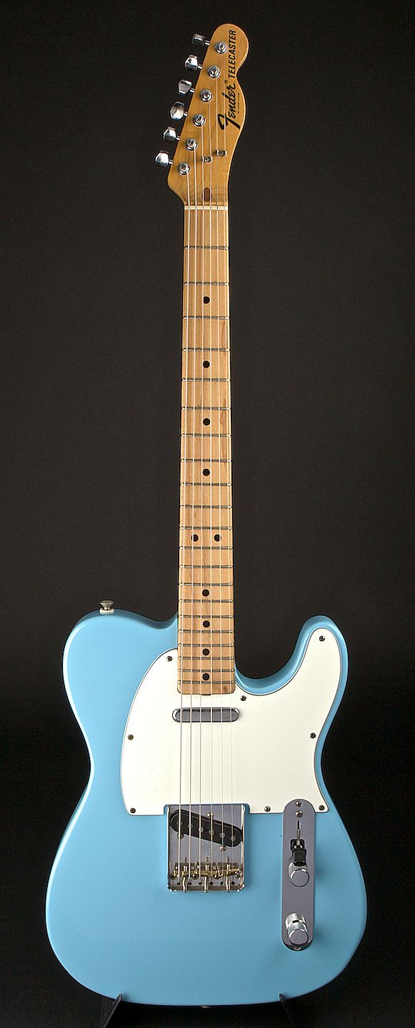 Fender Telecaster 1972 Sonic Blue Re-Fin