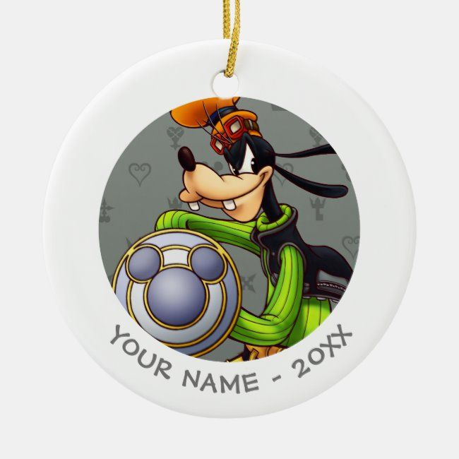 Kingdom Hearts Royal Knight Captain Goofy Ceramic Ornament Zazzle Com Kingdom Hearts Disney Kingdom Hearts Captain