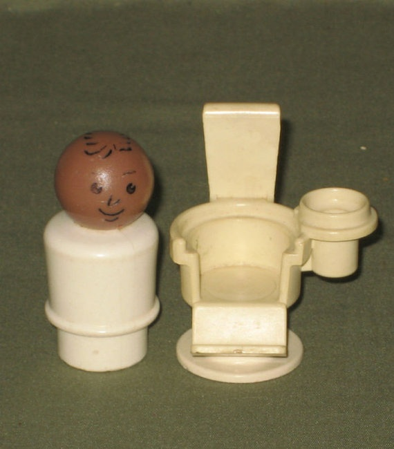 Vintage Fisher Price Little People AA Doctor with by JewelsThings, $10.00
