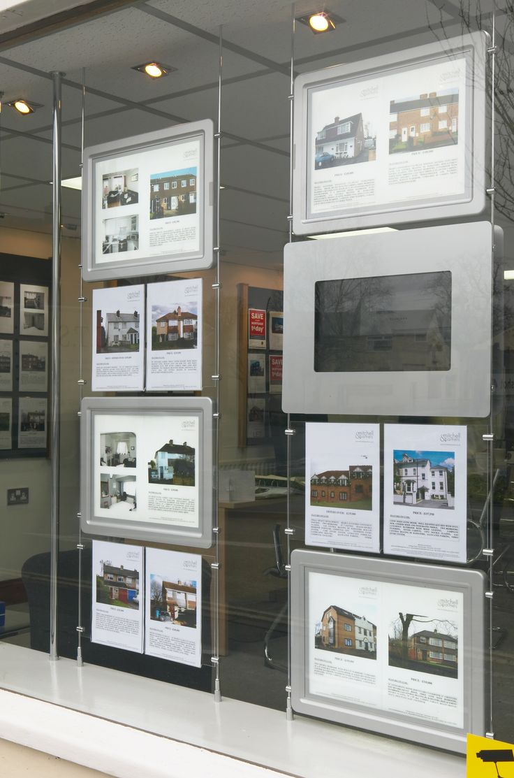 26 Best Images About Real Estate Window Display On