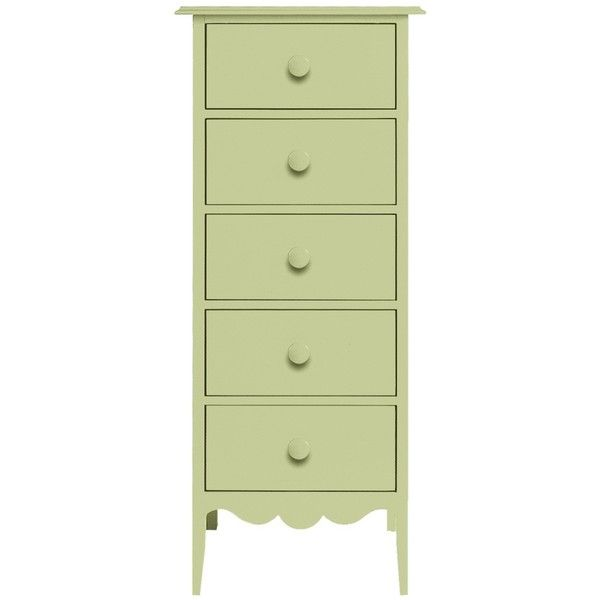 Lovely Nellie Lingerie Dresser liked on Polyvore featuring home furniture storage